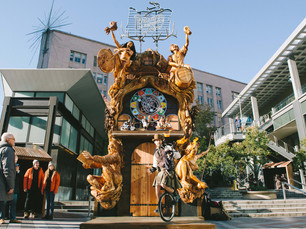The Largest Freestanding Cuckoo Clock in America