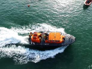 St Davids RNLI Last Launch
