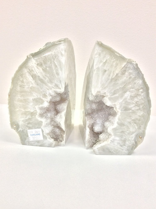 Geode Bookends