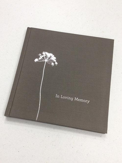 """In Loving Memory"" Book"