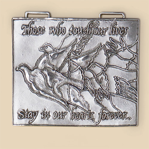 Pewter Wall Plaques