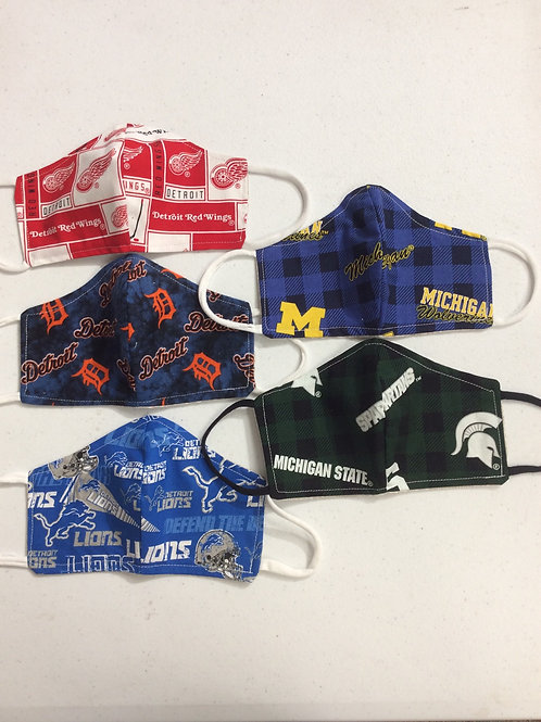 Michigan Spirit Masks