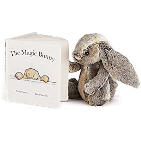 Jellycat Woodland Bunny and Magic Bunny Book