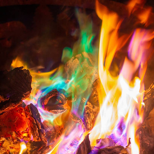 Northern Lights Fire Color