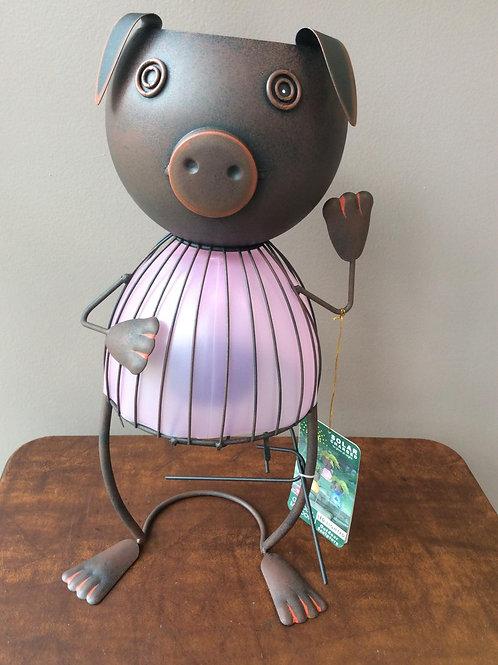 Pig Solar Planter