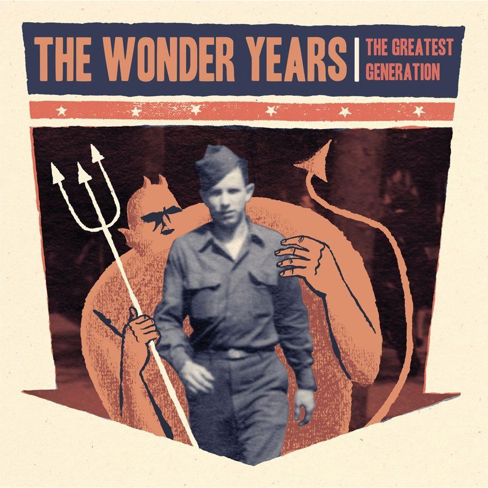 The Wonder Years - The Greatest Generation album art