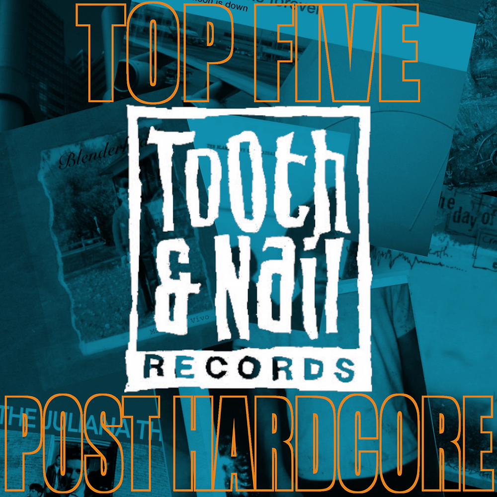 Tooth & Nail Records Logo, Further Seems Forever - The Moon Is Down, Roadside Monument - I Am the Day of Current Taste, twothirtyeight - Regulate The Chemicals, Frodus - Conglomerate International, The Juliana Theory - Understand This Is a Dream