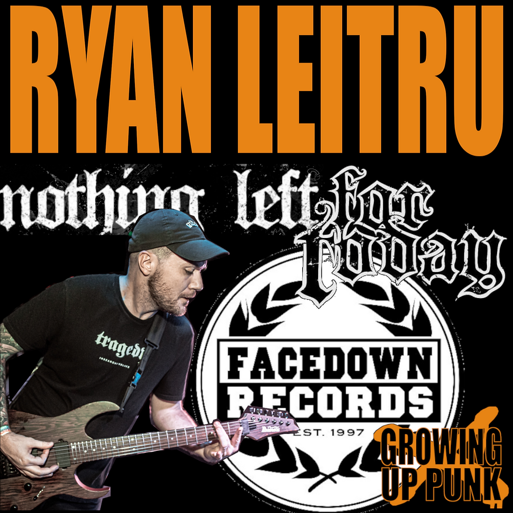 Ran Leitru of For Today and Nothing Left on Facedown Records