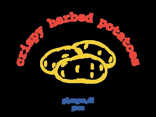 32 oz crispy herbed potatoes