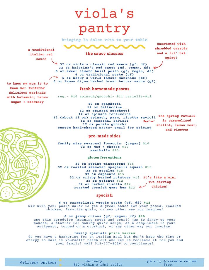 spring 2021 viola's pantry family menu.p
