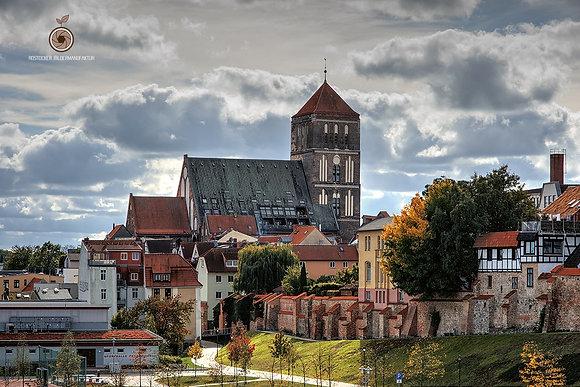 NR 5191 - DH HRO Stadtmauer St. Nikolai