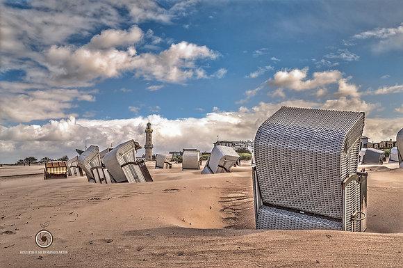Wandbild NR 5213 - WAR Strand Sturm