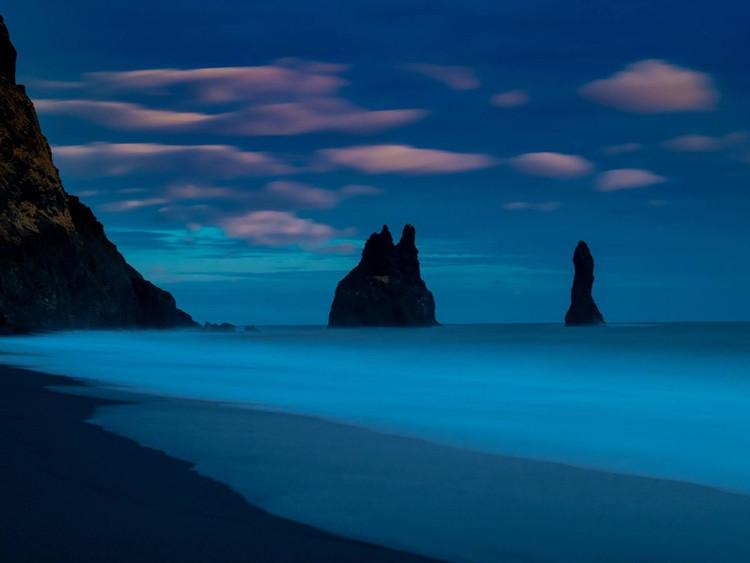 Slow blue by Marc Pelissier