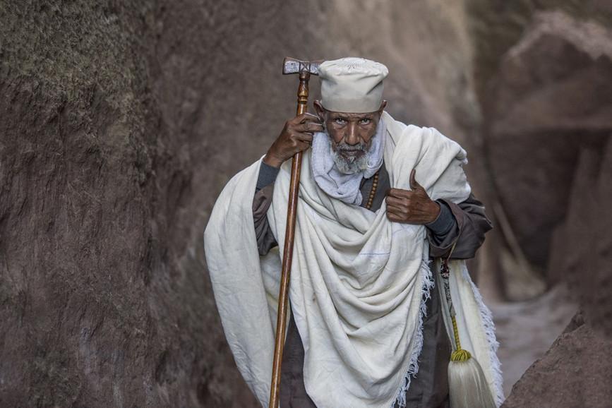 Pélerin copte