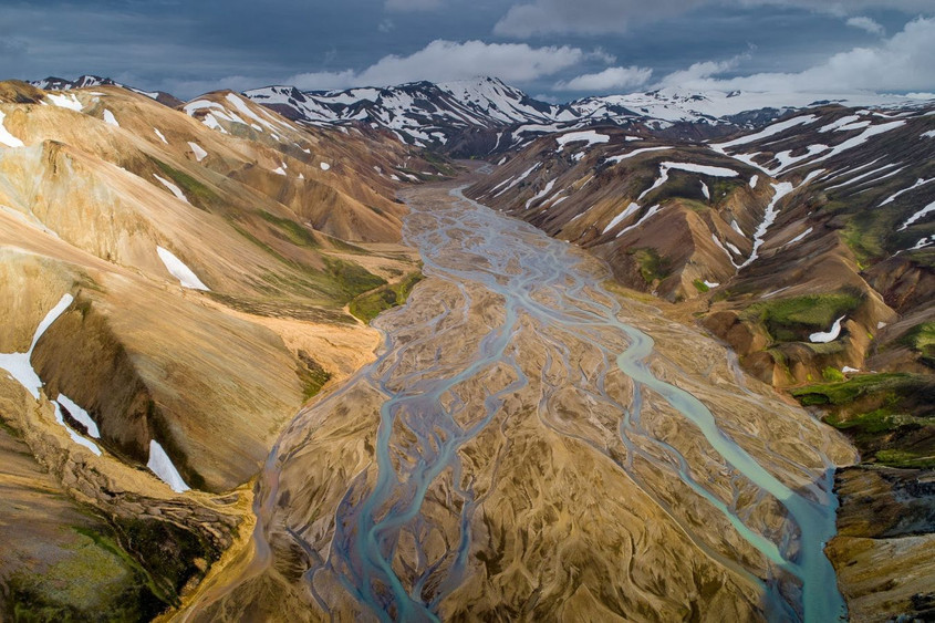 Landmana river by Marc Pelissie
