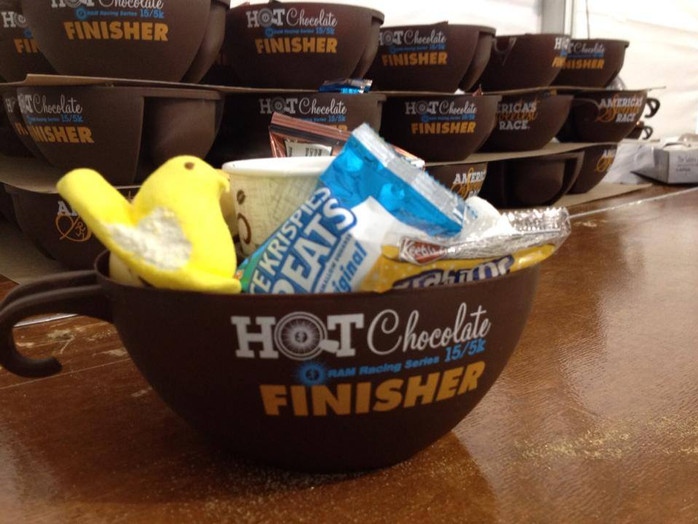 Six fun facts about the Hot Chocolate race series