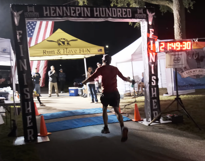 100 miles of gratitude at Hennepin Hundred