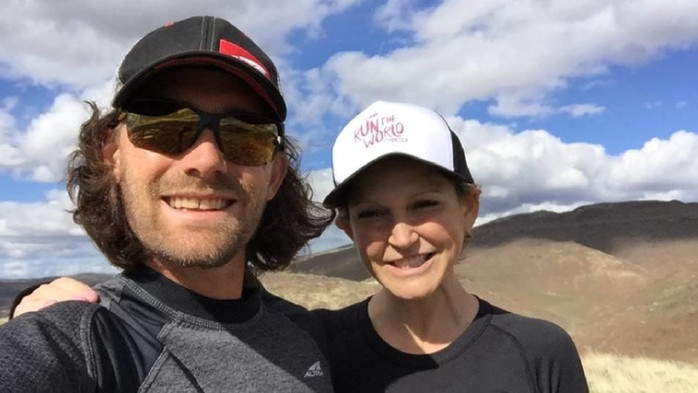 The Bitters' running, living, loving life