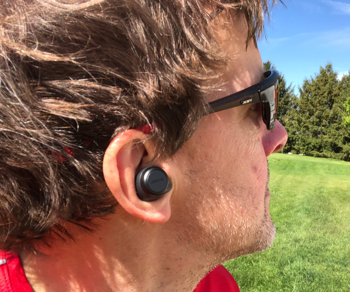 Jabra Elite 75t are innovative wireless earbuds for athletes