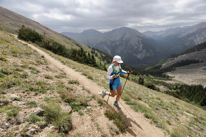 Leadville champion Annie Hughes runs with gratitude