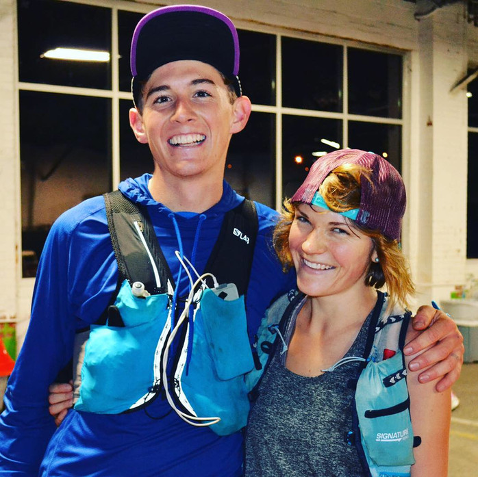 Training, running and living the dream together