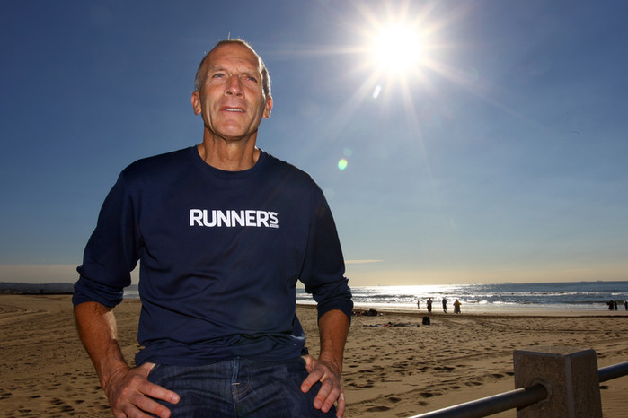 Bart Yasso runs off into the sunset