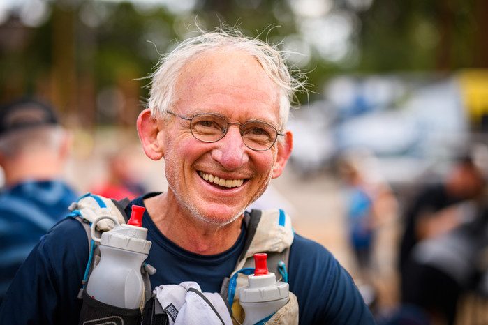 Just run — how Gene Dykes excels as a 70-year-old runner