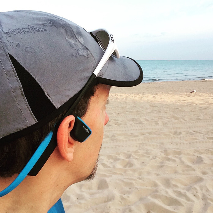 Aftershokz headphones are best, safest option for runners