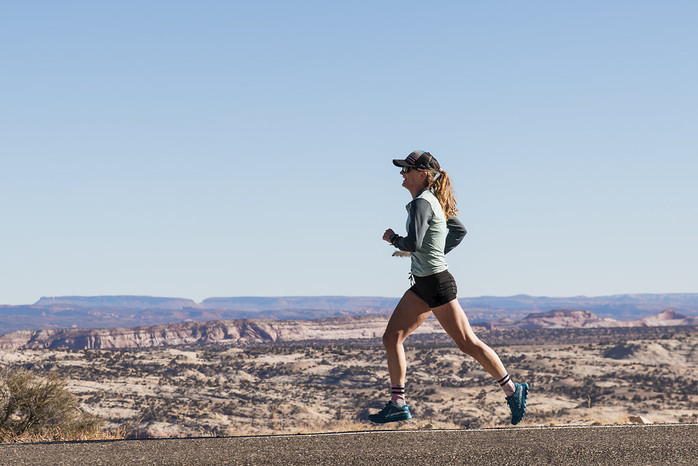 Clare Gallagher mixes trail racing with advocacy