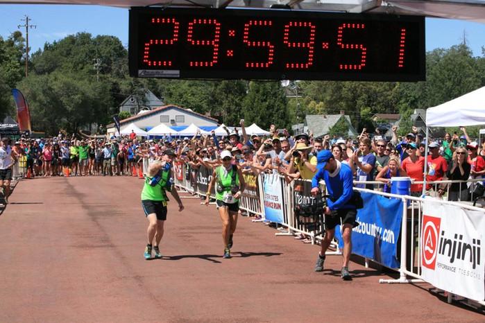 Gunhild Swanson's amazing finish at Western States