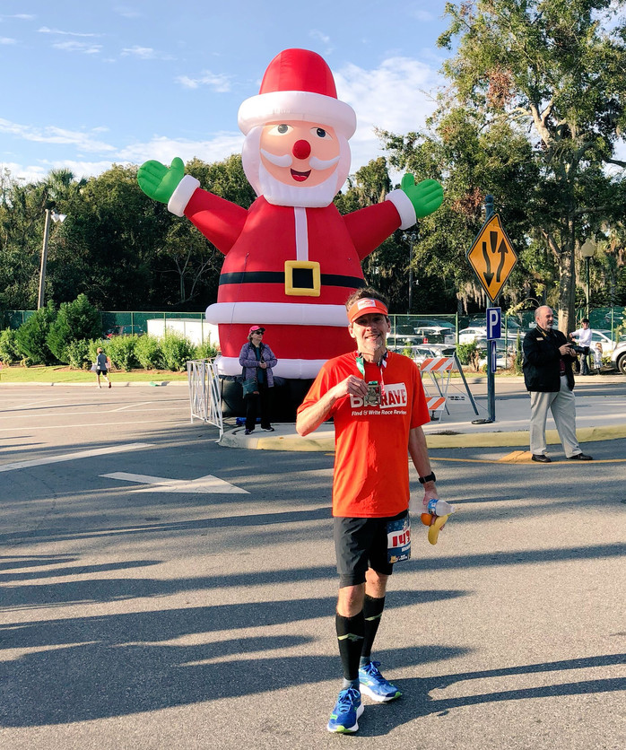 A small race with big heart in a festive town