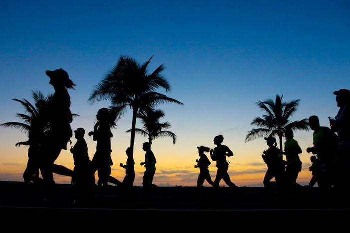 A1A Marathon radiates warmth in more than one way