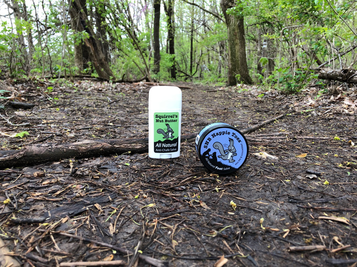 A testimonial for Squirrel's Nut Butter