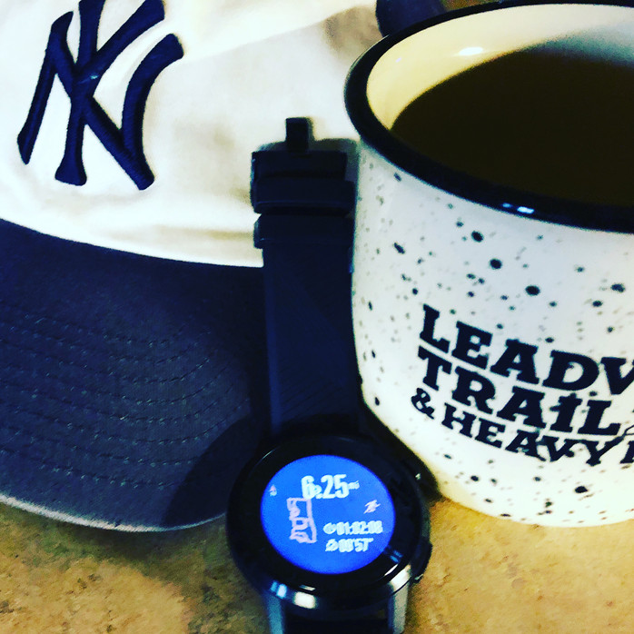 Let's talk about coffee and running