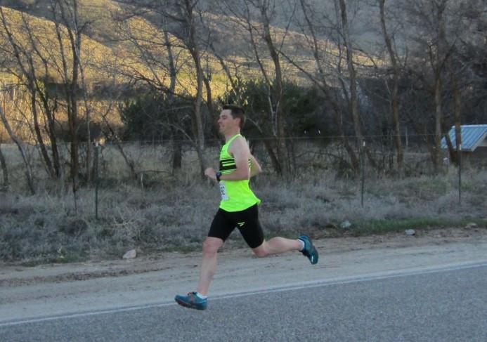 Elite runner balances goals, family life