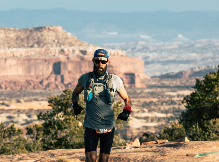 Running epic adventures, fueled by plants