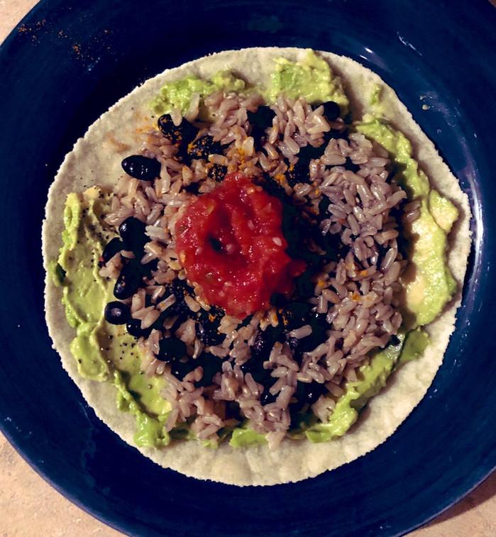Vegan meals for ultra runners
