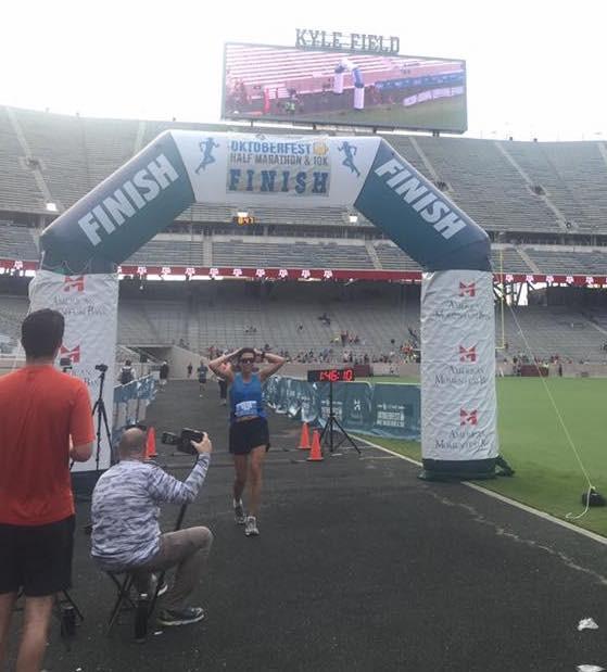 Using half marathons as training races