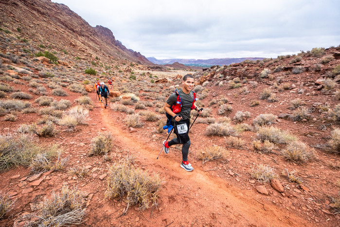 Kaylo Littlejohn overcomes racism, isolation to flourish and finish 240-mile ultra