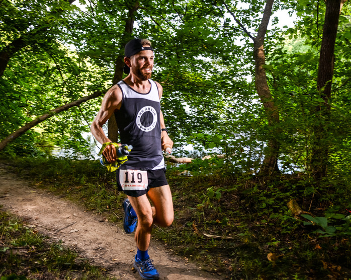 Ultra-running scientist exudes joy and resilience