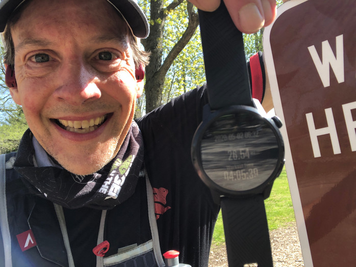 An FKT, an Accidental Ultra and supporting BTTT