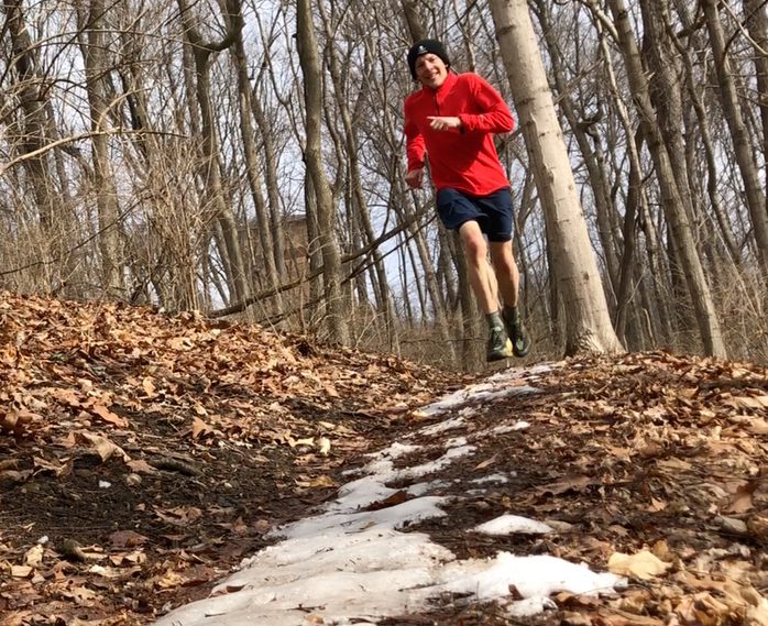 The benefits of winter trail running