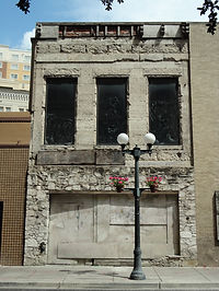 Dwyer Bldg - existing front facade.JPG