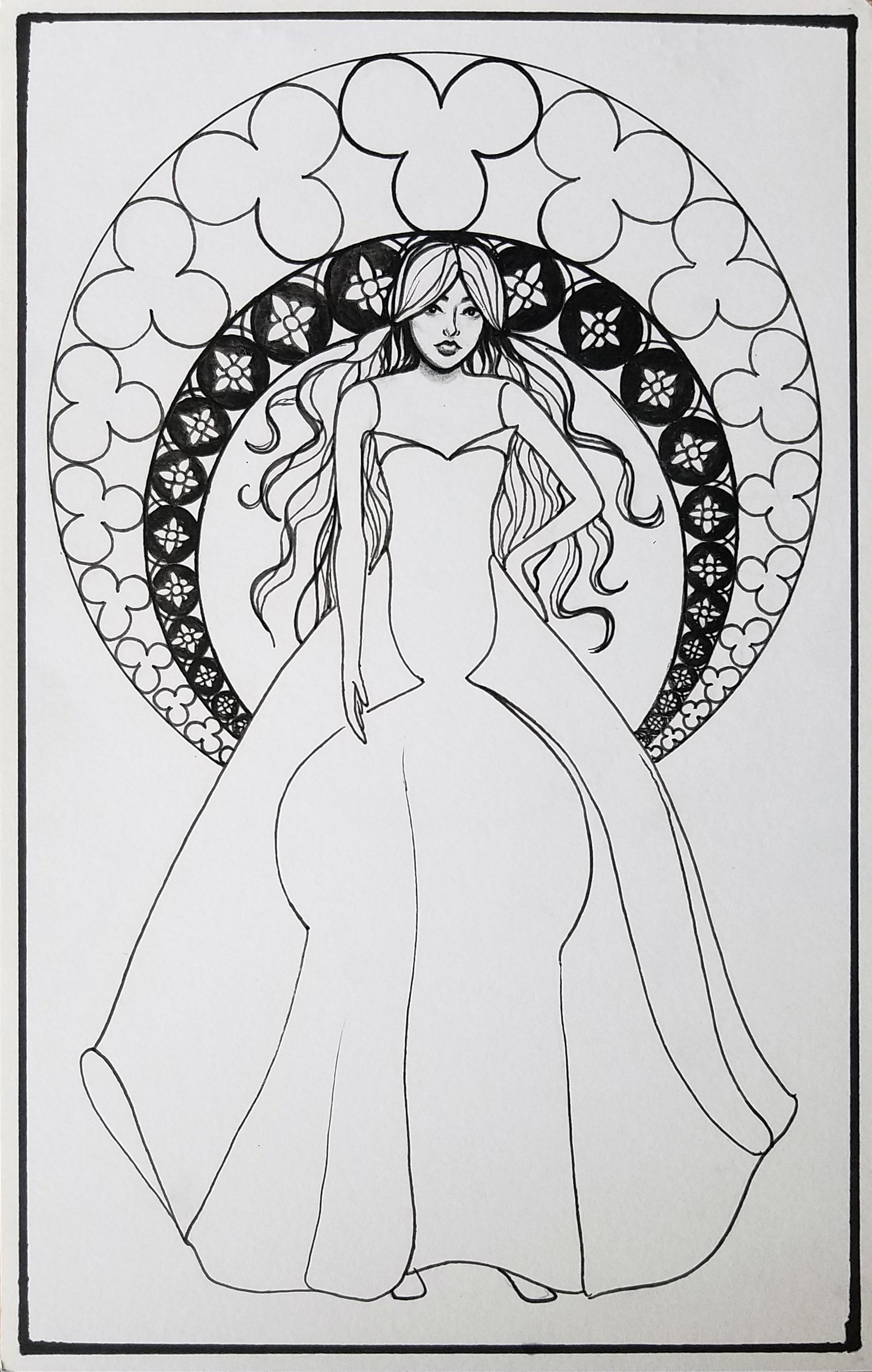Lady Nouveau1