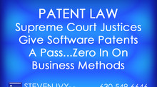 Supreme Court Justices Give Software Patents A Pass...Zero In On Business Methods