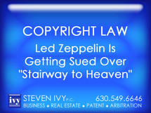 """Led Zeppelin Is Getting Sued Over """"Stairway to Heaven"""""""