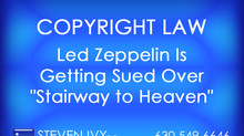 "Led Zeppelin Is Getting Sued Over ""Stairway to Heaven"""