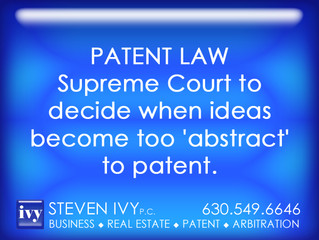 Supreme Court to decide when ideas become too 'abstract' to patent