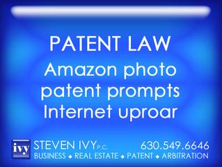 Amazon photo  patent prompts  Internet uproar