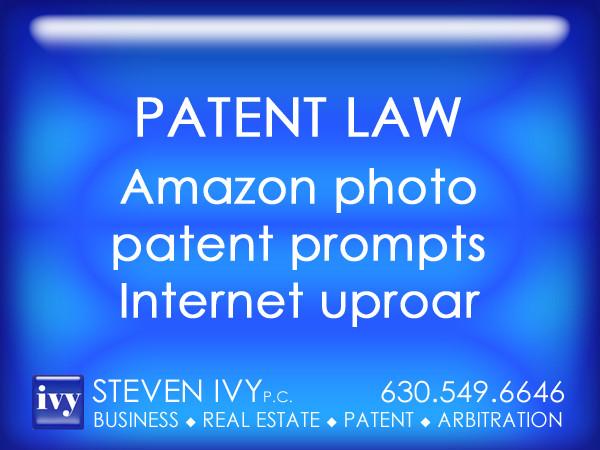 STEVEN IVY PC - Amazon photo  patent prompts Internet uproar.jpg